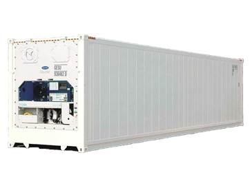 Thaireefer container 40' High cube