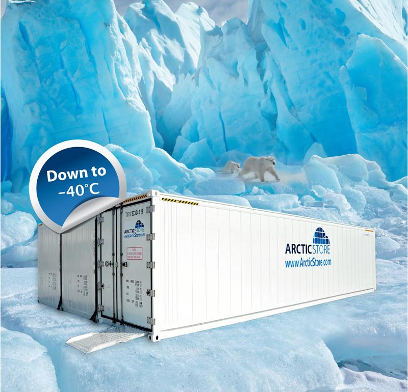 ArcticSuperStores สามารถบรรจุสินค้าได้ในปริมาณแทบไม่จำกัด