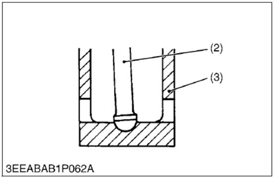 Kubota V2203 Nozzle Holder
