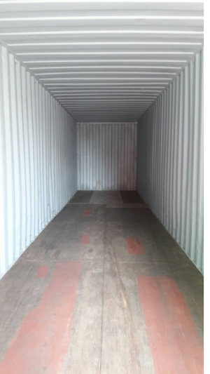 Container 40' HC Cargo Worthy