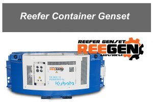 Reefer container Genset