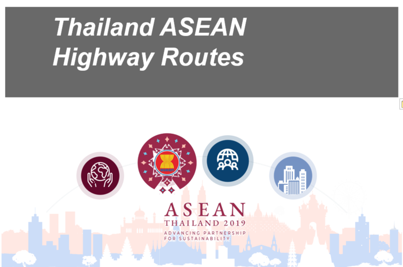 thailand ASEAN highway routes