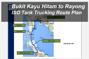 ISO Tank trucking route plan