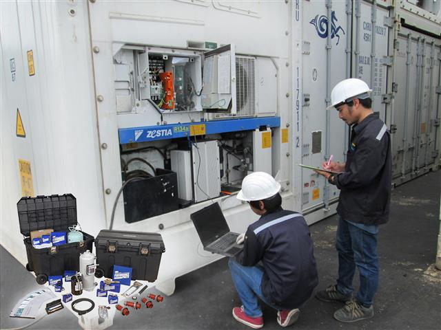 Maintenance and Repair Reefer Container