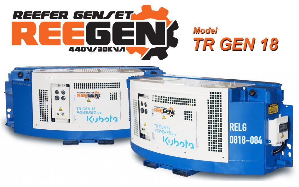 REEGEN Clip-On Generator set (Genset) : ThaiReefer Group
