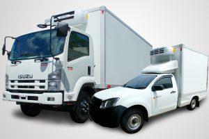 Chiller freezer truck
