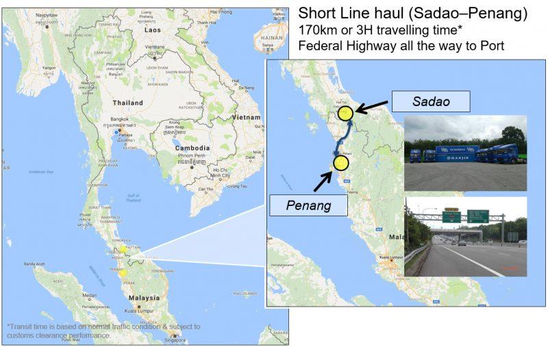 Sadao to Penang