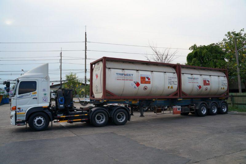 ISO Tank Transport
