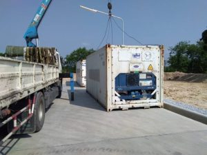 Delivery 20' Container