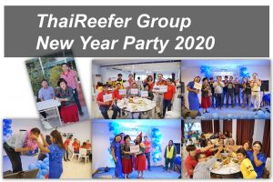 ThaiReefer new year party 2020