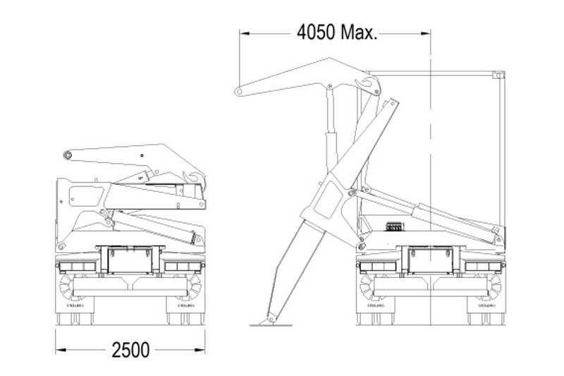 Steelbro Sidelifter SB450