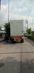 delivering modification container