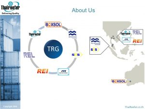 About ThaiReefer Group