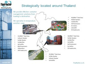 Location ThaiReefer Group