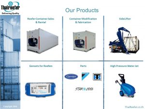 ThaiReefer Group Products