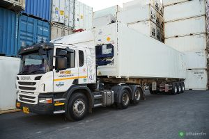 reefer container transport