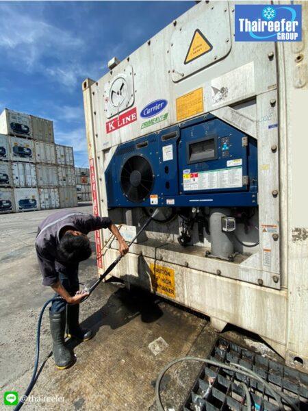 ล้าง condensor coil3