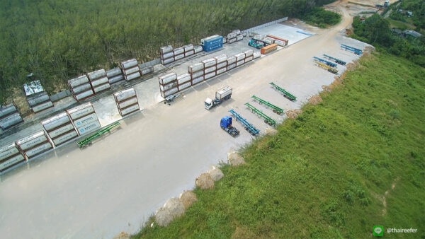 Sadao container depot