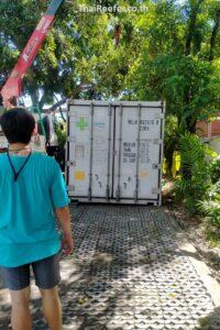 vaccine storage container